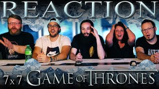 Game of Thrones 7x7 FINALE REACTION!!