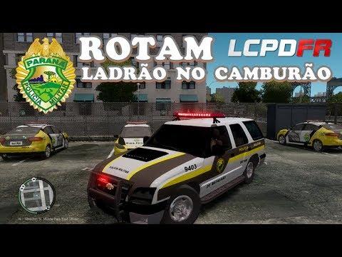 GTA IV - PMPR : ROTAM | Blazer com ladrão preso na mala