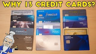 How to Climb the Credit Card Ladder Pt 2: Why we Have 13 Credit Cards