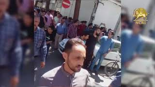 Iran Protests, August 13, 2018. Shoe makers
