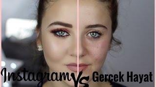 İnstagram vs. Gerçek hayat