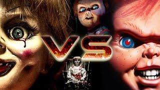 Anabelle vs Chuck ( O Brinquedo Assassino) | Batalha Insana | feat Haninha Black