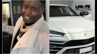 Blac Youngsta Gets Lamborghini Urus First Rapper To Drop $650K On Car