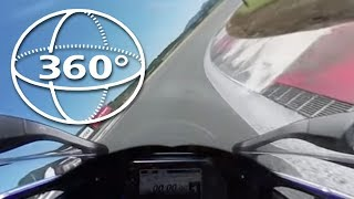 [360VR]300km/hオーバー 2015 YZF-R1M 富士スピードウェイ FSW KMA走行会