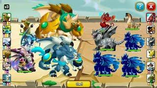 CATKUN & DOGKUN JOIN THE BATTLE ! DRAGON RESCUE GAMEPLAY PART 3