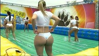 BRASILIAN in SOAP FOOTBALL ◆ Fun and joy with lots of soap ◆ BIKINI GIRLS #2