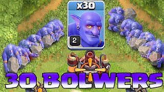 Clash Of Clans - ALL BOWLERS MASS ATTACK!!