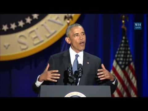 watch Watch President Obama's full farewell speech