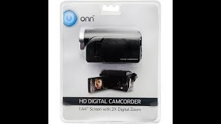 Halfassed Product Review: Onn $18 Walmart camcorder