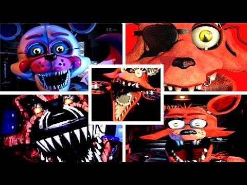 PLAY AS FOXY ANIMATRONICS FOXY Simulator JUMPSCARES