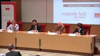 Nathanson Centre Conference on Public and Private Corruption - Panel 2 (Nov 6, 2014)