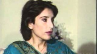 Benazir Bhutto Words on Zia