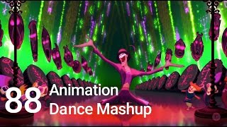 88 Animation Movies Dance Mashup (Justin Timberlake-Can't Stop the Feeling)