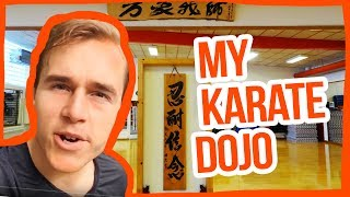 CHECK OUT MY DOJO!!! Traditional Karate School Tour — Jesse Enkamp