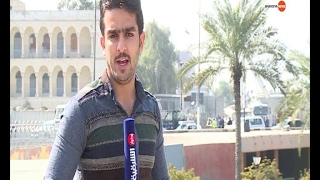 صباح بغداد بعد قطع العديد من الطرق ..12 2 2017..للشرقية نيوز يعرب القحطان