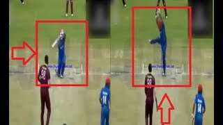 Muhammad Shahzad Two Funny Shots | Afghanistan Vs West Indies |