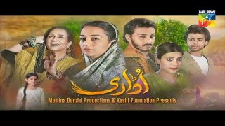 Udaari Episode 4 HD Promo Hum TV Drama 24 April 2016