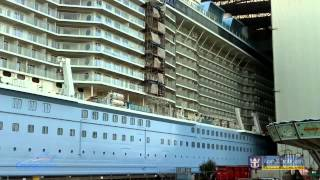 Time lapse   Quantum of the Seas Float Out