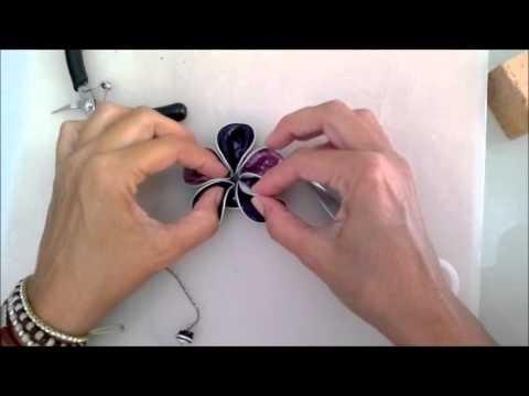 Broche flor cápsula nespresso