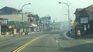 Driving through Downtown Gatlinburg after the Fire...
