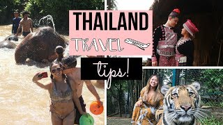 Top Travel Tips for Visiting Thailand for the First Time! (Money exchange, cell service and more!)