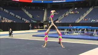 Bentley-Silverman-Stickley - Balance - 2015 USA Gymnastics Championships
