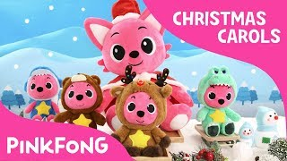 Rudolph The Red Nosed Reindeer | Christmas Carols | Pinkfong Plush | Pinkfong Songs for Children