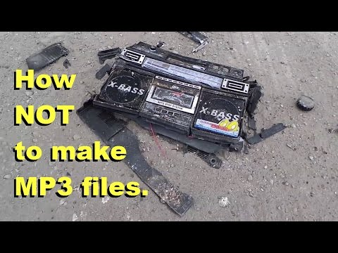 How NOT to create MP3 music from cassette Feat. Techmoan