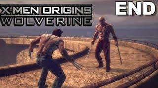 X-Men Origins Wolverine PS3 Gameplay #13: Wolverine vs Deadpool [ENDING!!]