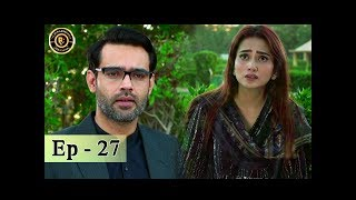 Sun yaara - Episode 27 - 10th July 2017 Junaid Khan & Hira Mani - Top Pakistani Dramas