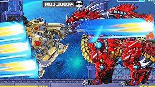 Robot Tank Vs Kangaroo Vs Turtle Vs Sickle Vs Dragon | Eftsei Gaming