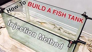 HOW TO BUILD A GLASS AQUARIUM - 120G reef tank build PART 3