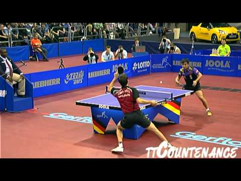 World Cup: Wang Hao-Timo Boll