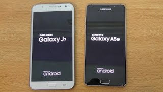 Samsung Galaxy A5 (2016) vs Galaxy J7 - Speed & Camera Test (4K)