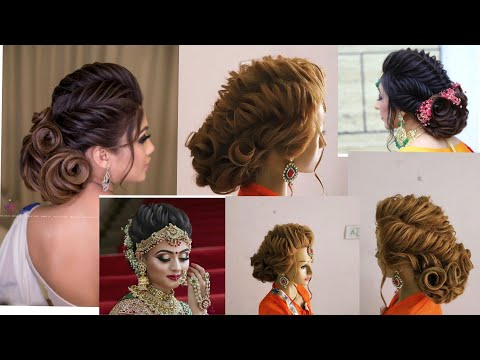 Xxx Mp4 Latest Twisted Updo Hairstyle By Sunil Kumar Creative Hairstylist How To Make Twist Updo Hairstyle 3gp Sex