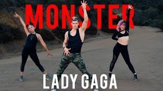 Monster - Lady Gaga | Caleb Marshall | Dance Workout