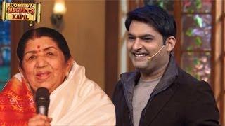 Lata Mangeshkar PERFORMS on Kapil Sharma