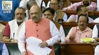 'Will give life for Kashmir,' Amit Shah pans Congress on article 370