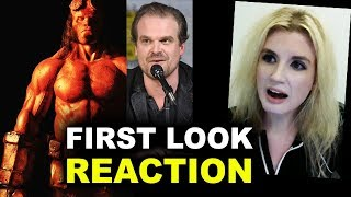 Hellboy Reboot FIRST LOOK David Harbour REACTION