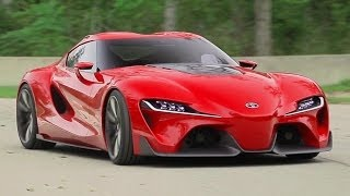 Toyota FT-1 Concept! The Next Supra? - The Downshift Ep. 73