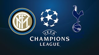 FIFA 18 INTER MILAN VS TOTTENHAM CHAMPIONS LEAGUE