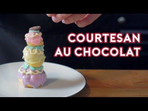 Binging with Babish Courtesan au Chocolat from Grand Budapest Hotel