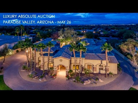Paradise Valley Arizona Home For Sale Guest House & Pool