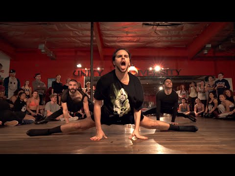 """YANIS MARSHALL HEELS CHOREOGRAPHY """"BABY ONE MORE TIME"""" BRITNEY SPEARS. FEAT ARNAUD & MEHDI"""