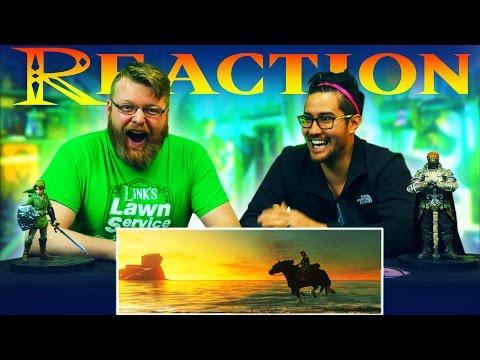 watch The Legend of Zelda: Breath of the Wild - 2017 Trailer REACTION!! (Nintendo Switch Presentation)