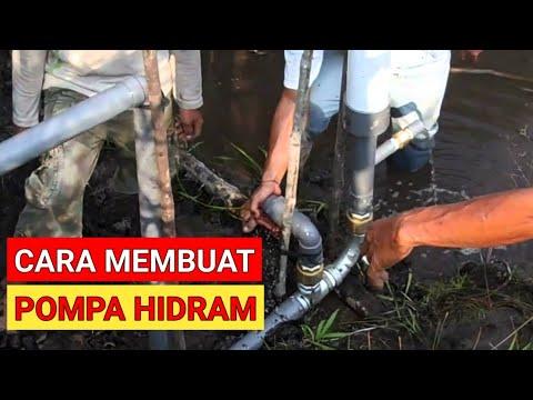Eksperimen bikin pompa hidram