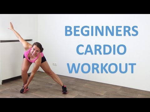20 Minute Cardio Workout for Beginners – Low Impact Beginner Cardio Exercises – At Home