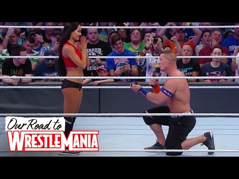 Xxx Mp4 John Cena And Nikki Bella Are Engaged 😍👫❤ Courtesy Of WWE Network 3gp Sex