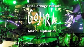 Mario Duplantier - Gojira | Toxic Garbage Island live @ Theaterfabrik München 30/03/17