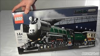 LEGO 10194 Smaragdexpress (Emerald Night) - Review deutsch -